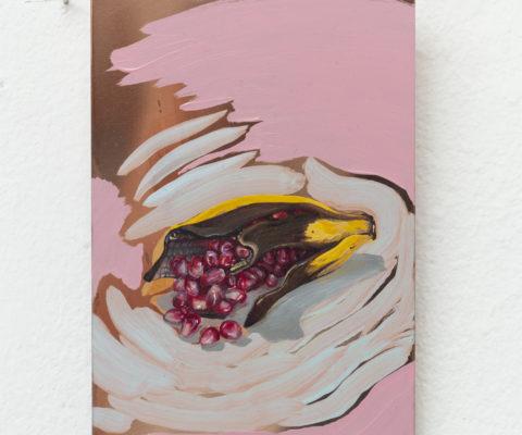 Sans titre-Huile sur cuivre-2018-15cm/10cm-Collection Privée