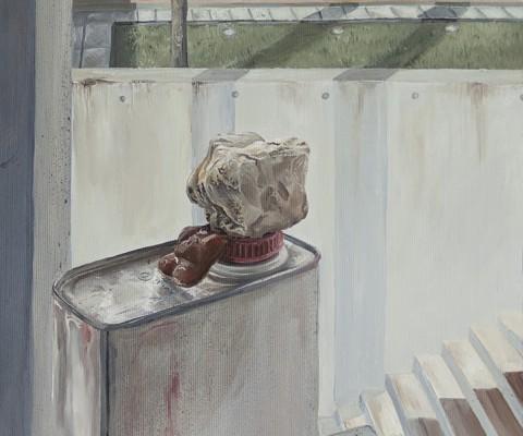 Esam-peinture à l'huile sur toile-2016-28cm/35cm