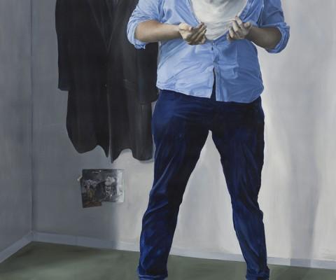 L'ogre -peinture à l'huile sur toile-2015-210cm/150cm