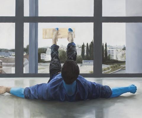 Paul-peinture à l'huile sur toile-2016-160cm/140cm-Collection Privée